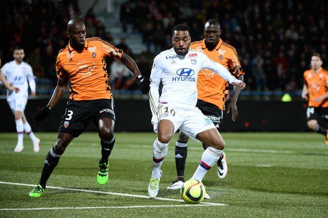 Lorient - OL : 1-3