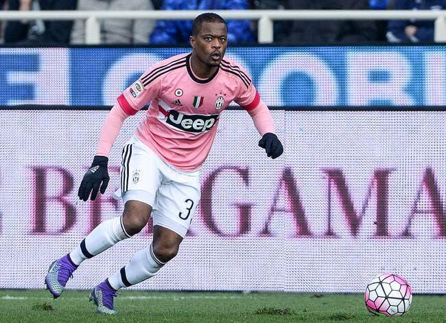 Juventus : L'avenir d'Evra en passe d'être scellé
