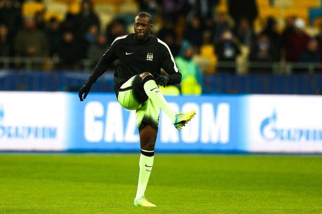 Man City : Yaya Touré est forfait contre le PSG, mais pas que