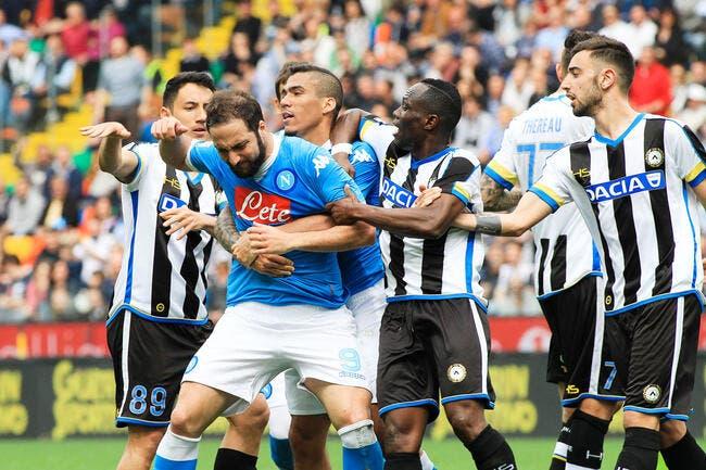 Naples : Gonzalo Higuain prend une grosse suspension