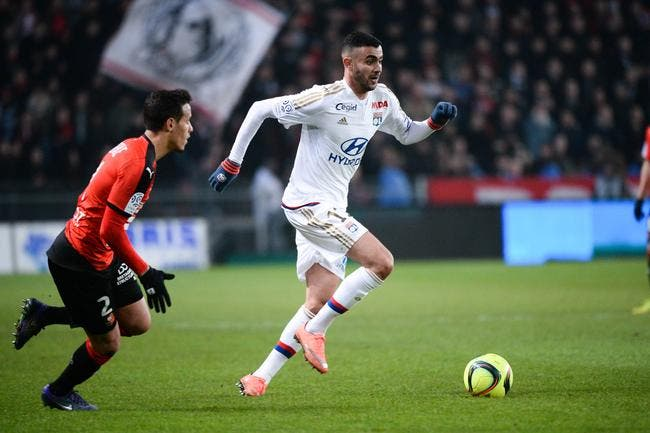 OL : Rachid Ghezzal élu « Lyonnais du mois de mars »