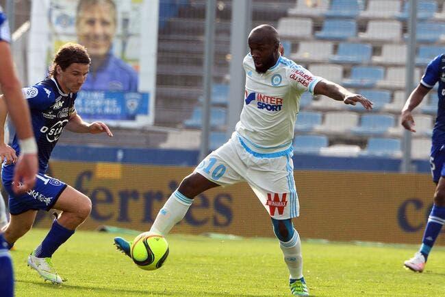 OM : Lassana Diarra absent trois semaines !