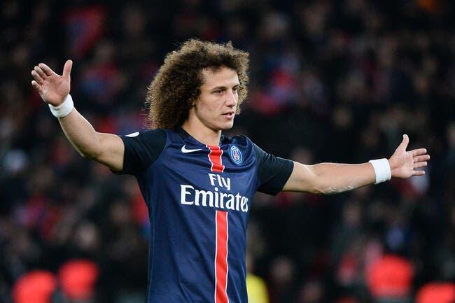 PSG : David Luiz suspendu pour le quart de finale retour