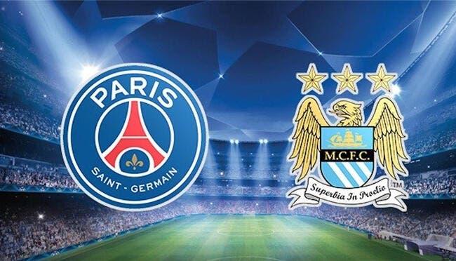 PSG - Manchester City : Les compos