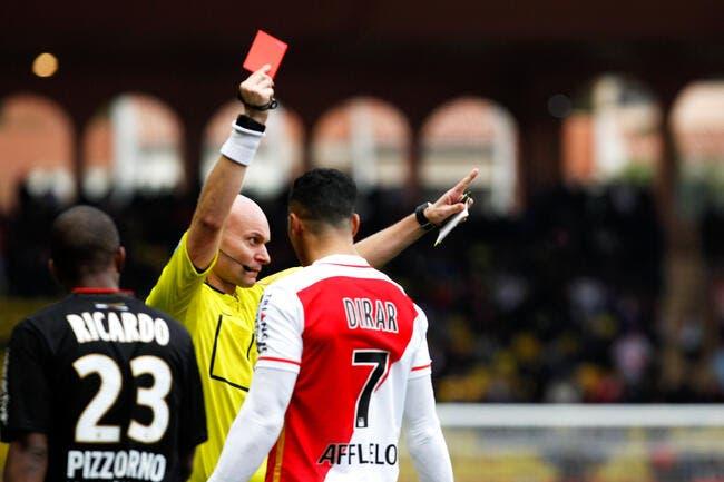 Monaco: Dirar n'accepte pas la sanction du club, cela pourrait aller loin