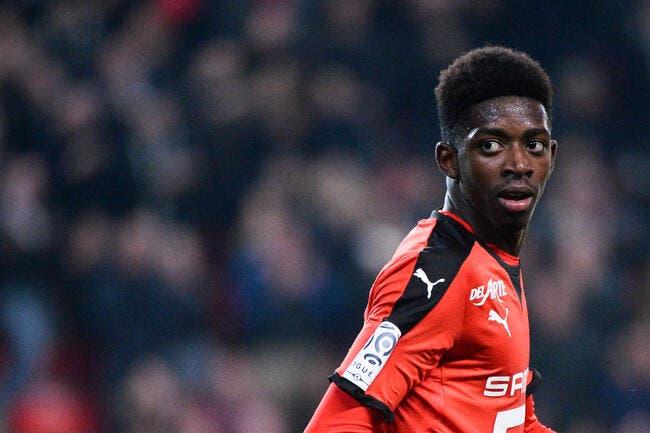 Rennes : L'étonnante clause libératoire qui peut brader Dembélé