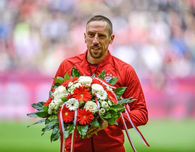 France : A un mois de la liste, Ribéry se propose en équipe de France !