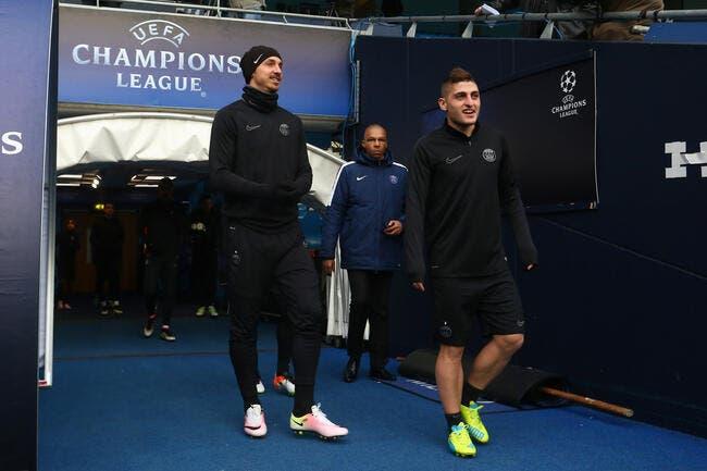 Manchester City – PSG: les compos