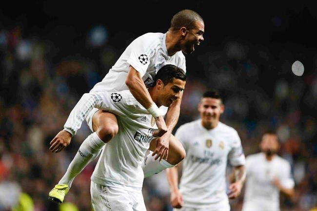 Real Madrid : Pepe pousse pas Cristiano Ronaldo dans les orties