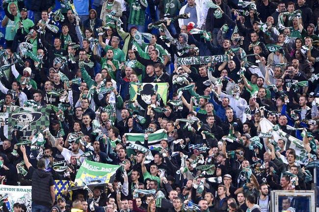 ASSE: Les Verts se mouillent pour leurs fans à Bastia