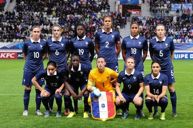equipe de france jo les bleues avec les etats unis foot 01. Black Bedroom Furniture Sets. Home Design Ideas