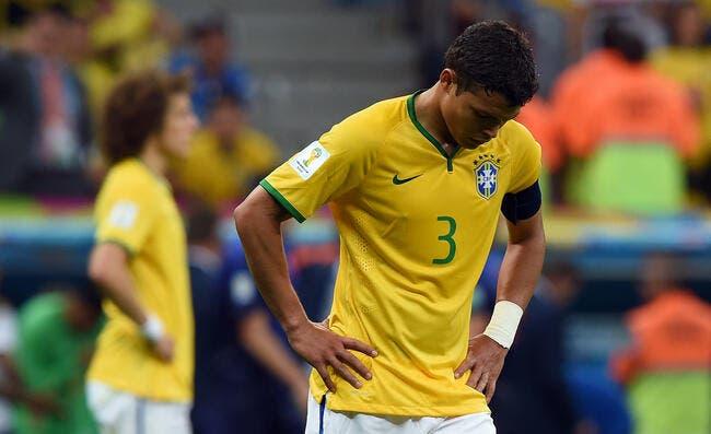 Brésil: Sous pression, Dunga ne craquera pas pour Thiago Silva