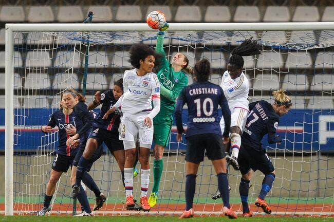 LdC féminine : PSG-OL se jouera au Parc des Princes