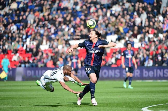PSG-Caen : L'homme du match c'est forcément Ibrahimovic
