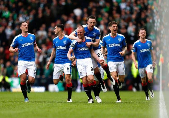 Les Rangers font l'exploit et sortent le Celtic