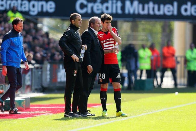 Rennes : Gourcuff de nouveau blessé ?