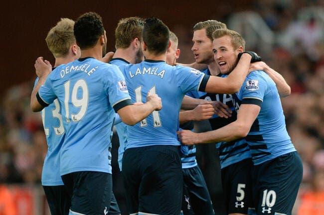 Stoke - Tottenham 0-4