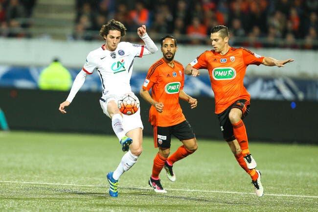 Lorient hurle au scandale du penalty oublié contre le PSG