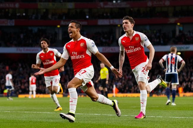 Arsenal - West Bromwich Albion : 2-0