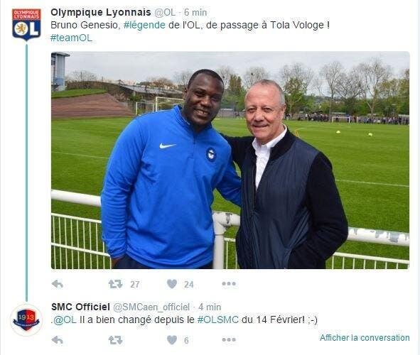 OL : Quand Lyon fait rigoler Twitter avec Bruno Genesio-N'Gotty