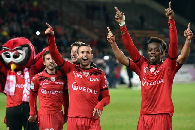 Dijon monte en Ligue 1...sans jouer !