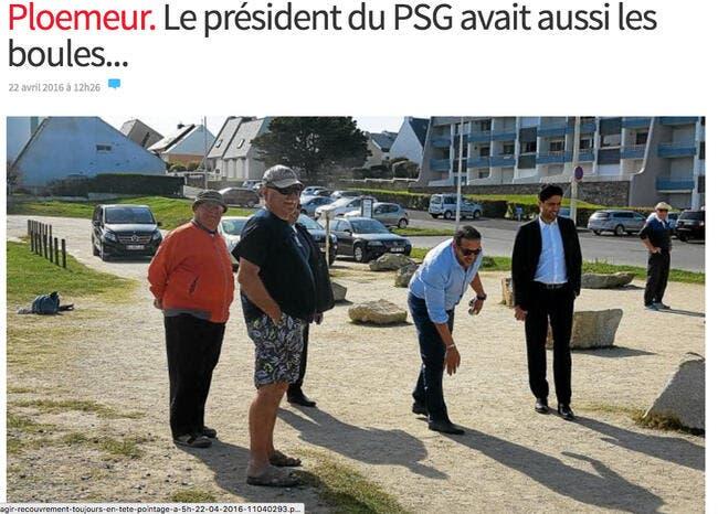 PSG : Nasser Al-Khelaifi aime avoir les boules à la main