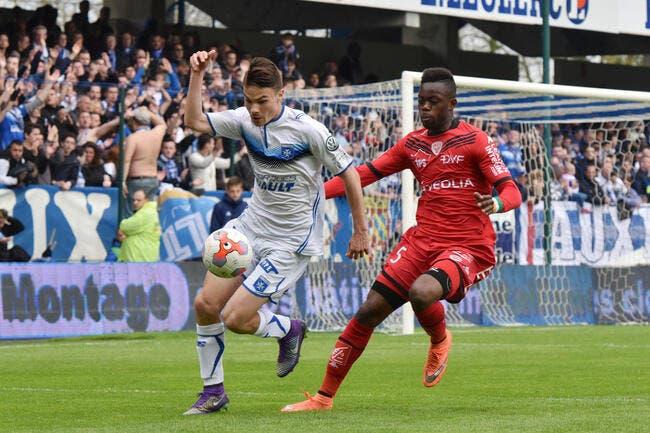 Auxerre - Dijon : 2-0