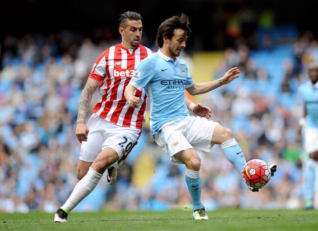 Manchester City - Stoke City : 4-0