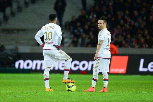 OL : Lacazette ou Valbuena, pas de polémique à Lyon