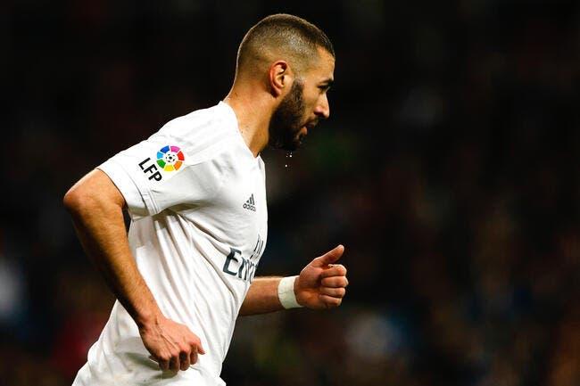 Real Madrid : Benzema blessé à la cuisse