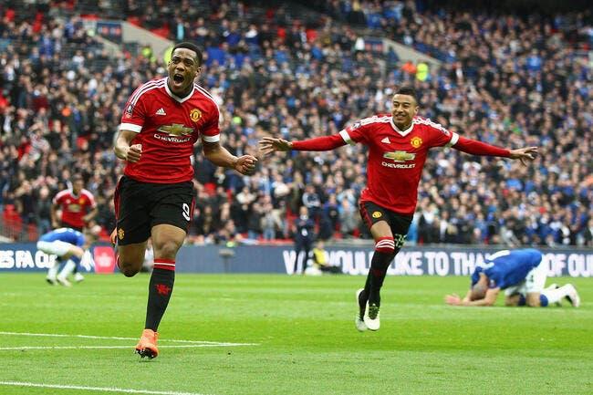 Video : Le but décisif de Martial en demi-finale de FA Cup