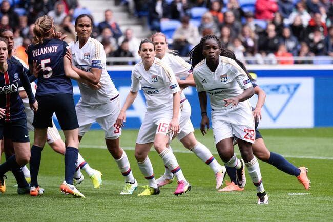 LdC féminine : PSG-OL au Parc des Princes malgré la rouste