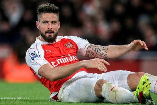 Giroud déclenche une incroyable rage des supporters d'Arsenal