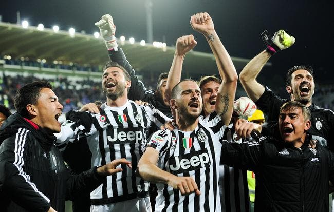 Video : La Juventus de Pogba fête le titre !