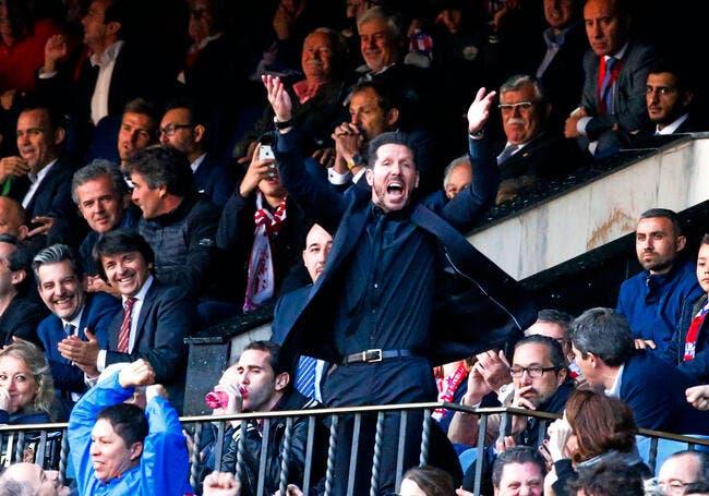Atlético: Simeone suspendu jusqu'à la fin de la saison!