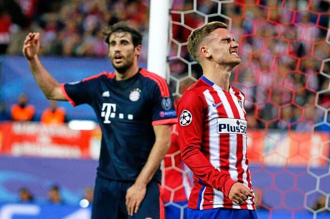 Griezmann avoue que l'Atlético c'est pas la fête du foot