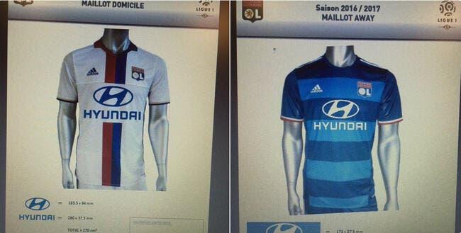 OL : Les nouveaux maillots de Lyon dévoilés ?