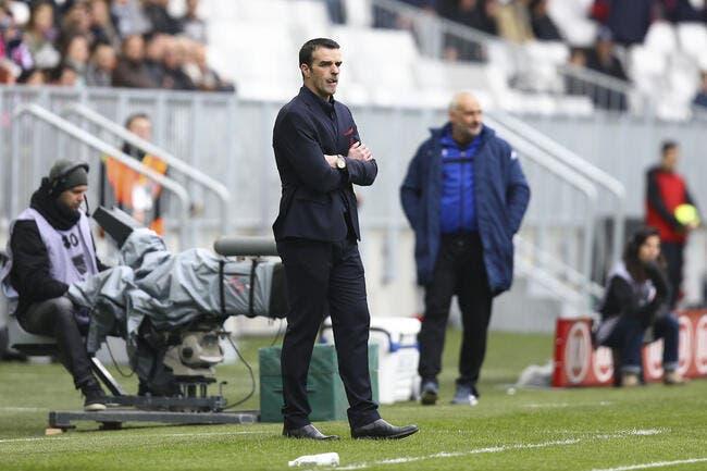 Le groupe de Bordeaux contre Troyes