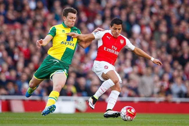 Arsenal - Norwich City : 1-0