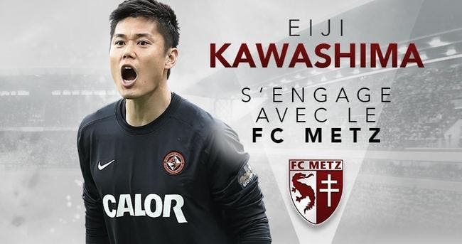 Mercato : Kawashima signe au FC Metz