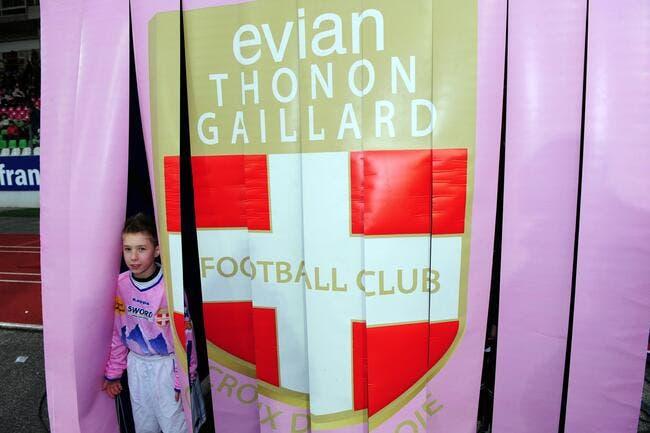 Evian Thonon Gaillard placé en redressement judiciaire