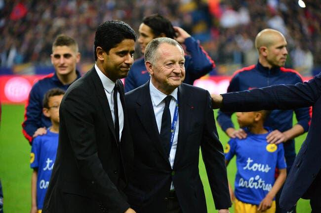 PSG-OL : Un clash Al-Khelaifi-Aulas pour le Trophée des champions ?