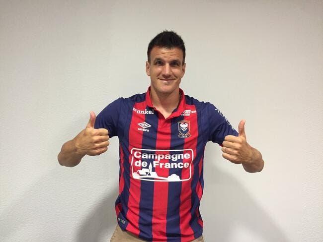 Mercato : Ivan Santini signe à Caen