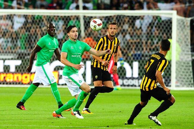 EL : La compo de l'ASSE contre l'AEK Athènes (20h sur SFR Sport 1)