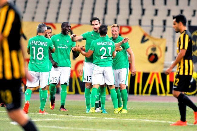 Europa League : L'ASSE connaît ses cinq adversaires possibles