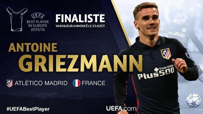 Joueur 2015-2016 : Griezmann contre Bale et Ronaldo en finale
