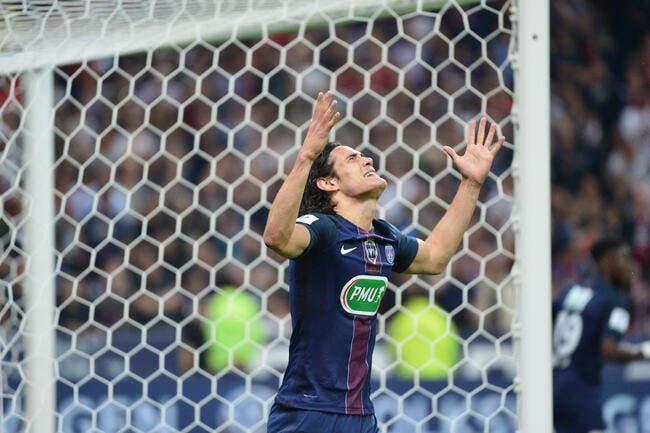 PSG : Edinson Cavani forfait contre Lyon !