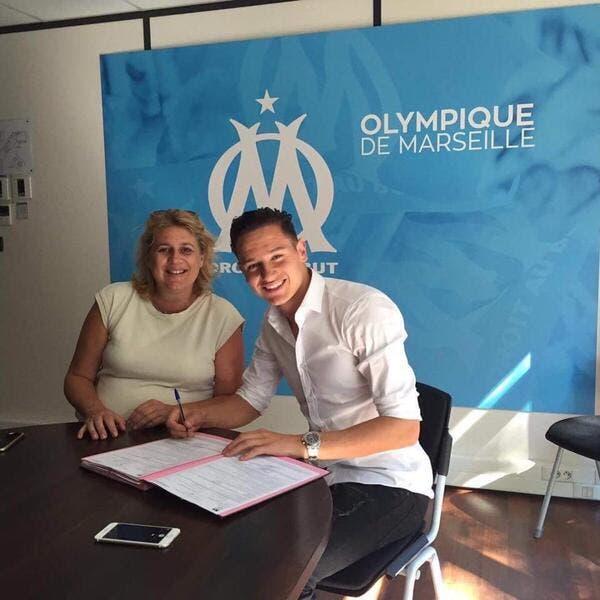 OM : Florian Thauvin a signé son contrat à Marseille