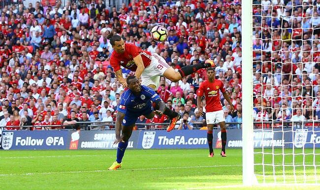 Man. United : Un but, un 31e trophée, Zlatan Ibrahimovic s'enflamme