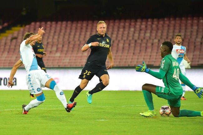 Monaco : Lourde défaite à Naples en amical